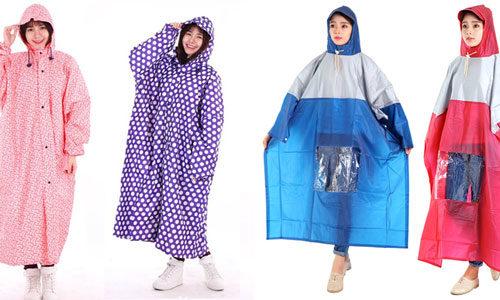 Top 5 áo mưa vừa thời trang bền bỉ vừa tiện lợi dễ sử dụng nhất hiện nay 5