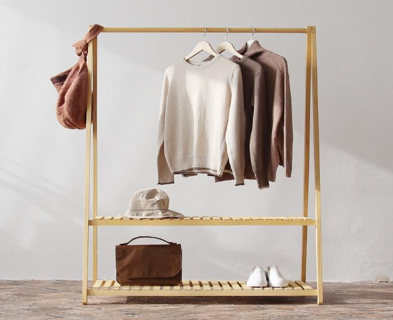 Giá treo quần áo có nhiều công dụng nổi bật