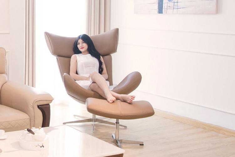 Nên mua ghế thư giãn bằng gỗ hay ghế thư giãn bọc nệm