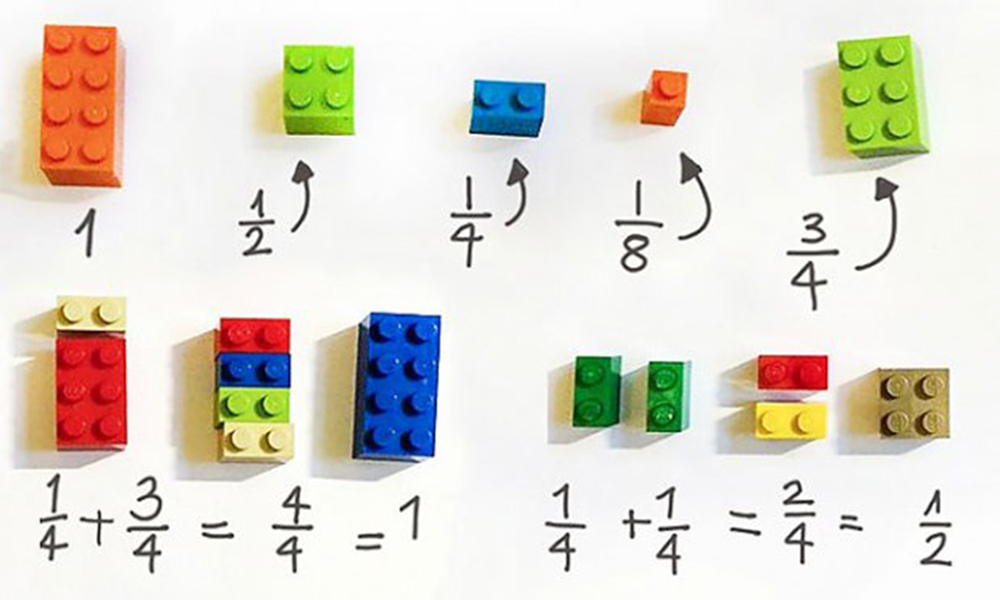 Lego giúp tăng cường khả năng tư duy toán học