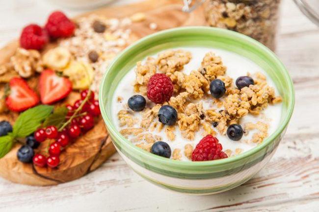 Ngũ cốc ăn sáng là gì