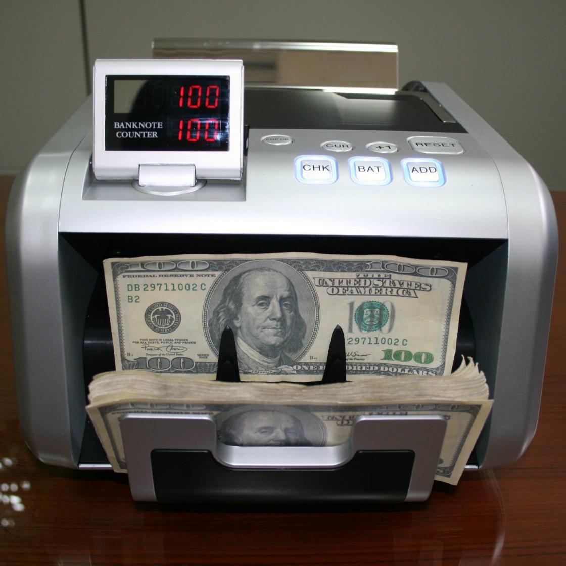 Hướng dẫn sử dụng máy đếm tiền giả theo các phím chức năng