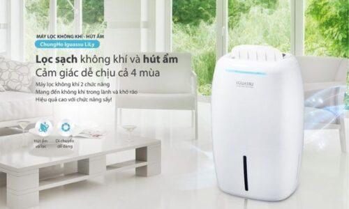 Top 7 máy hút ẩm tốt nhất, lọc bỏ vi khuẩn, bụi bẩn hiệu quả 2020