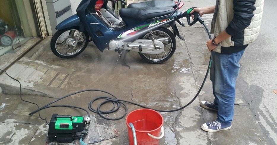 Vì sao nên lựa chọn máy rửa xe cao áp