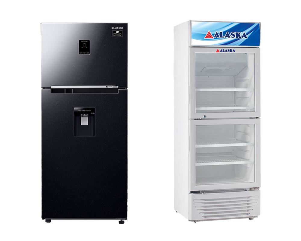 Nên chọn mua tủ mát hay tủ lạnh?