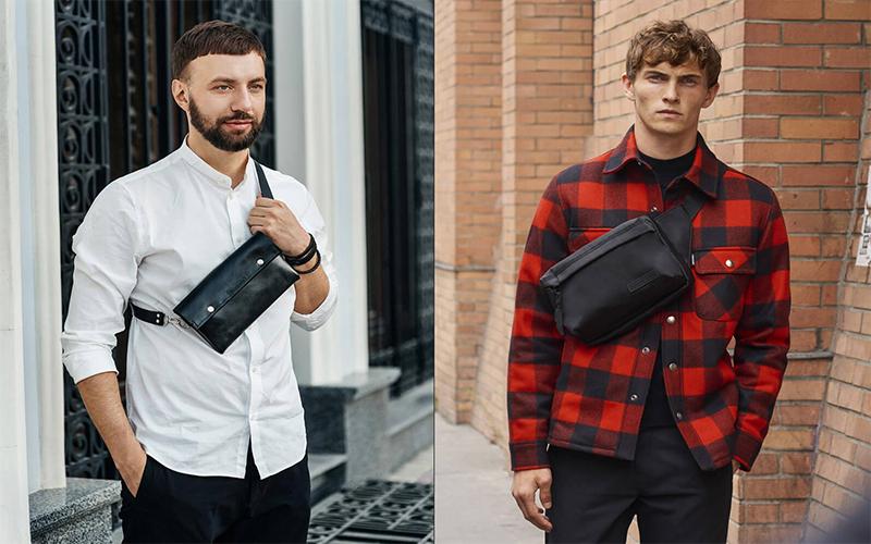 Nên chọn mua túi đeo chéo bằng da hay bằng vải?