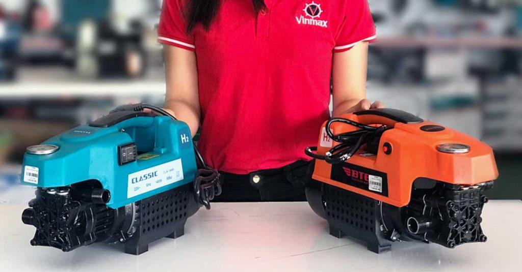 Phân loại máy rửa xe hiện nay trên thị trường