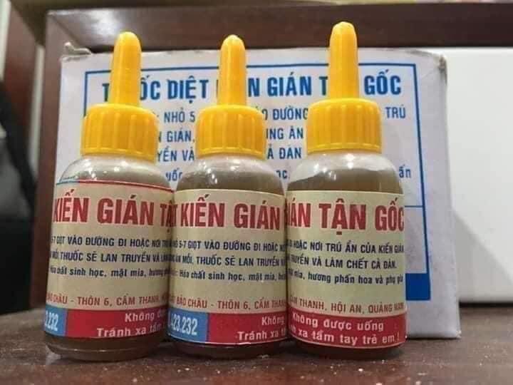 Những vấn đề cần biết khi chọn mua thuốc diệt kiến