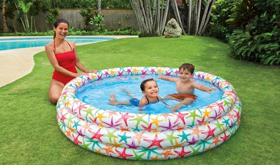 Tiêu chí mua bể bơi cho bé