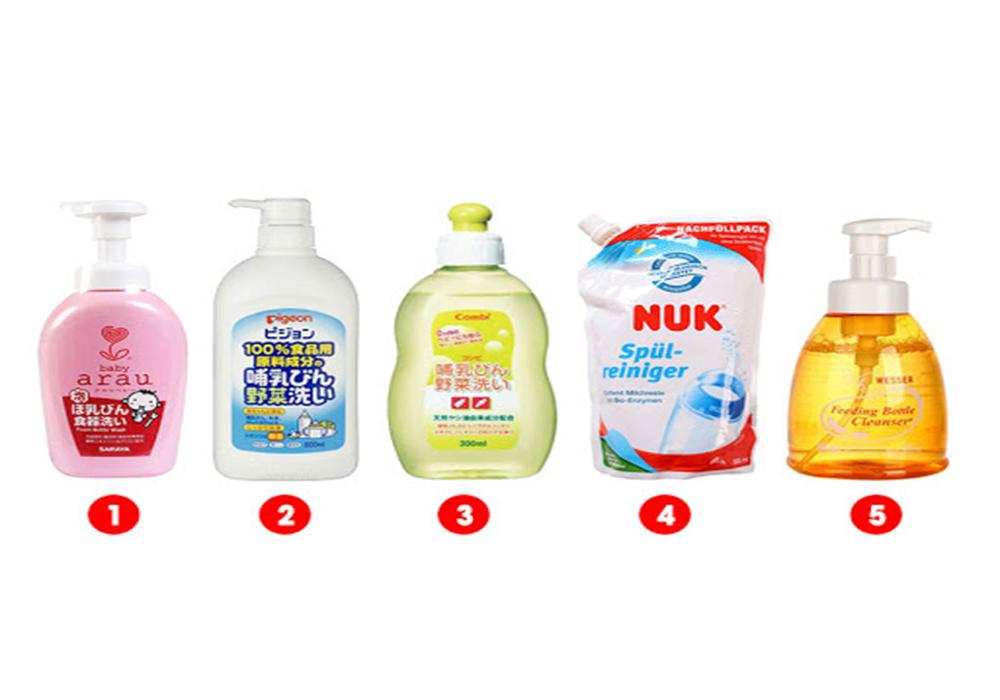 Các tiêu chí lựa chọn nước rửa bình sữa an toàn cho bé
