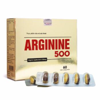 Thuốc bổ gan Arginine 500