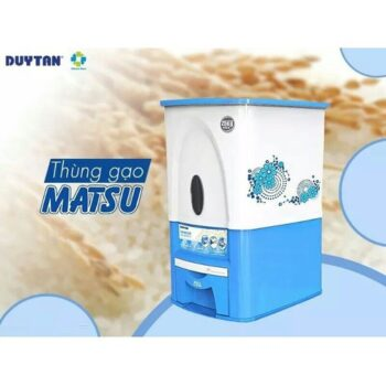 Thùng đựng gạo thông minh Duy Tân Matsu