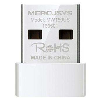 Bộ thu wifi không dây chuẩn N mini USB Mercusys MW150US