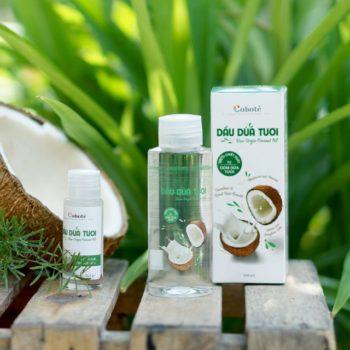 Top 5 dầu dừa tốt nhất giúp chị em dưỡng da làm đẹp an toàn 9