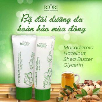 Kem dưỡng da tay Riori Hana Hand Cream