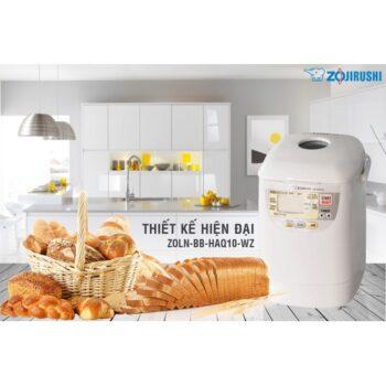 Máy làm bánh mì tự động Zojirushi ZOLN-BB-HAQ10-WZ