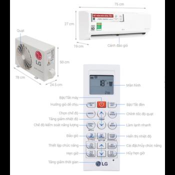 Máy lạnh LG Inverter 1HP V10ENH