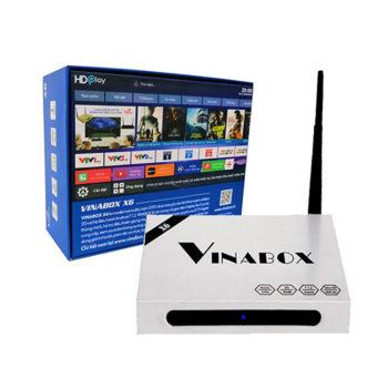 Vinabox X6 – TV Box điều khiển bằng giọng nói