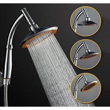 Bộ vòi sen tắm tăng áp lực nước Inox javal