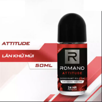 Lăn Khử Mùi Romano Attitude