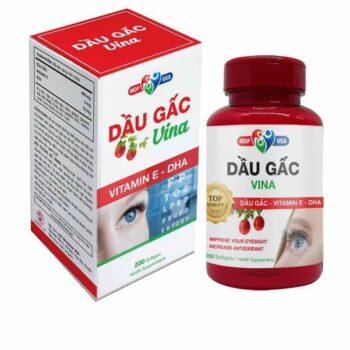 Thuốc bổ mắt dầu gấc Vina Softgels MDP