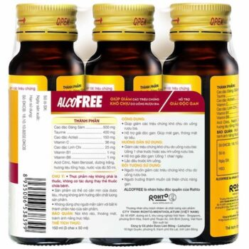 Thuốc giải rượu Alcofree