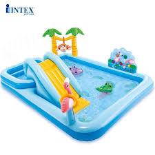 Bể bơi phao trẻ em có cầu trượt INTEX 57161