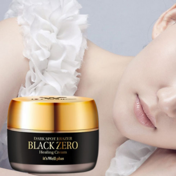 Kem Dưỡng Da Xóa Thâm Nám It's Well Plus Dark Spot Eraser Black Zero Healing Cream