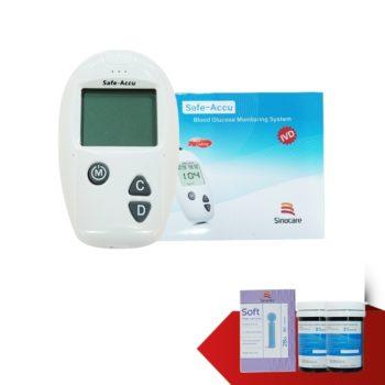 Máy đo đường huyết Safe Accu