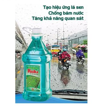 Nước rửa kính xe oto Nano Ruki