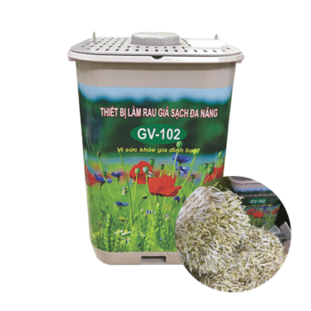 Thiết bị làm rau giá tự động điều chỉnh độ nén GV – 102 Pb