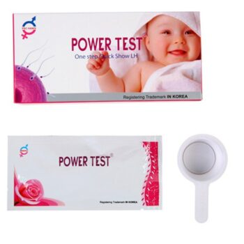 Que thử rụng trứng Powertest