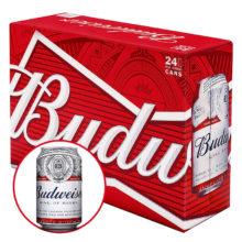 Bia Budweiser thùng 24 lon