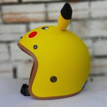 Mũ bảo hiểm 3/4 Pikachu