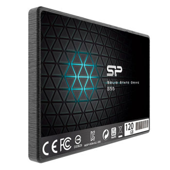 Ổ Cứng SSD Silicon Power S55 120GB (TLC) Up To 550MB/s / 420MB/s
