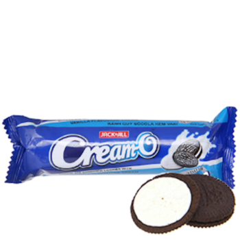 Bánh quy nhân kem vani Oreo