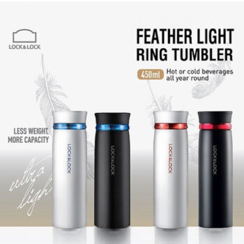 Bình giữ nhiệt Lock&Lock Feather Light LHC4131BKR