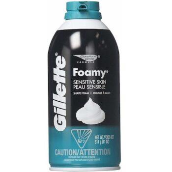 Bọt cạo râu Gillette Foamy Sensitive Shave Foam