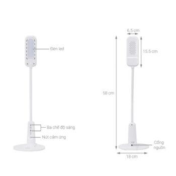 Đèn Bàn Led Điện Quang ĐQ LDL04 4W