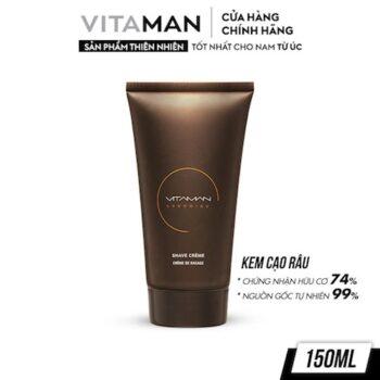 Kem Cạo Râu Vitaman Grooming Shave Crème