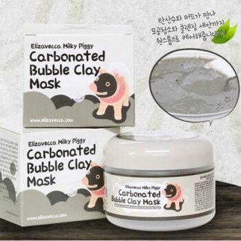 Mặt nạ sủi bọt Elizavecca Milky Piggy Carbonated Bubble Clay Mask