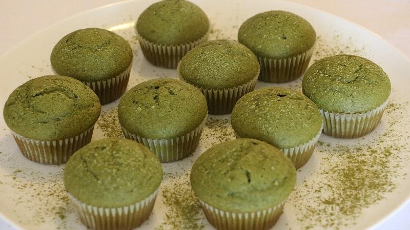 Bánh cupcake trà xanh ngon khó cưỡng