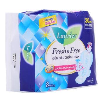 Băng vệ sinh Laurier Fresh & Free ban đêm