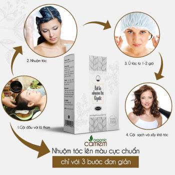 Top 5 thuốc nhuộm tóc tốt nhất và lên màu chuẩn không độc hại đối với da đầu 12