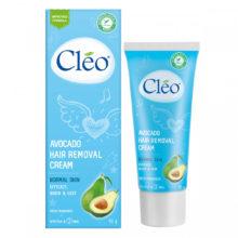 Kem tẩy lông Cleo Avocado Hair Removal Cream Normal Skin (50g)