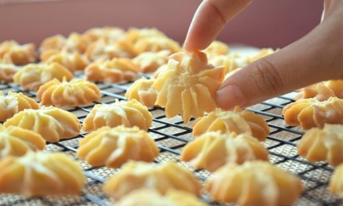 Cách làm bánh quy bơ thơm ngon đơn giản