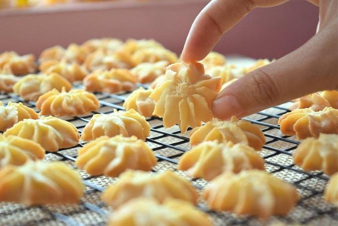 Cách làm bánh quy bơ thơm ngon
