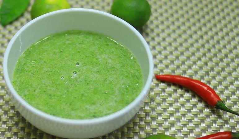 Cách làm nước chấm ớt xiêm xanh chấm ốc