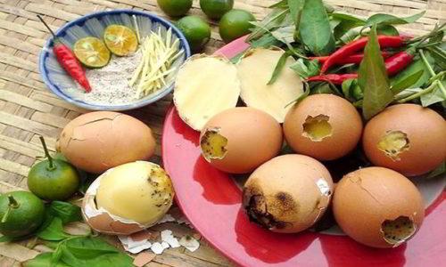 Cách làm trứng gà nướng không bị bể tại nhà