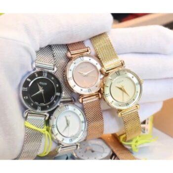 Đồng hồ nữ dây kim loại Julius JA-728